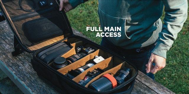 X Nomadic Camera Pack main compartment