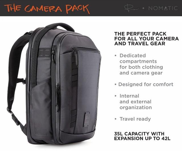 X Nomadic Camera Pack