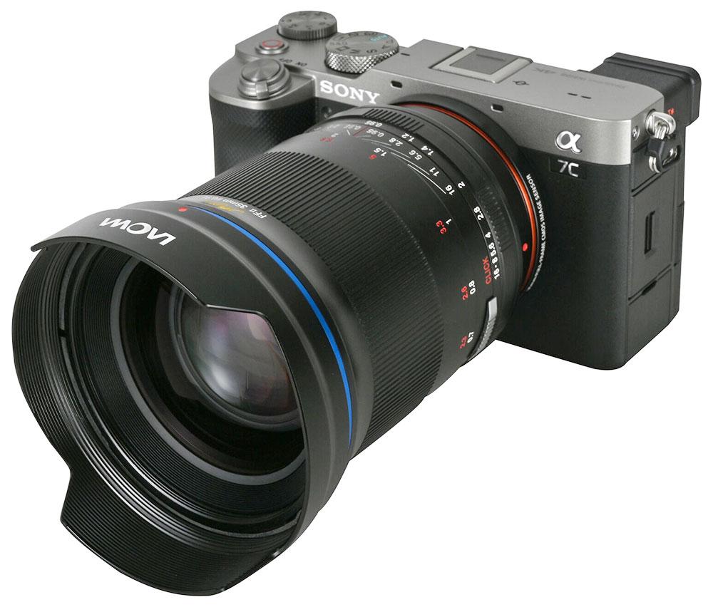 Laowa Argus 35mm f/0.95 FF lens for Sony