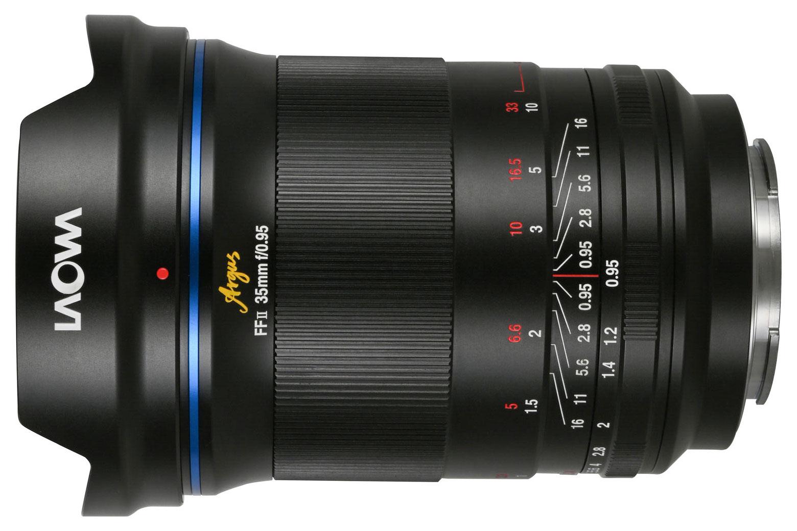 Laowa Argus 35mm f/0.95 FF lens