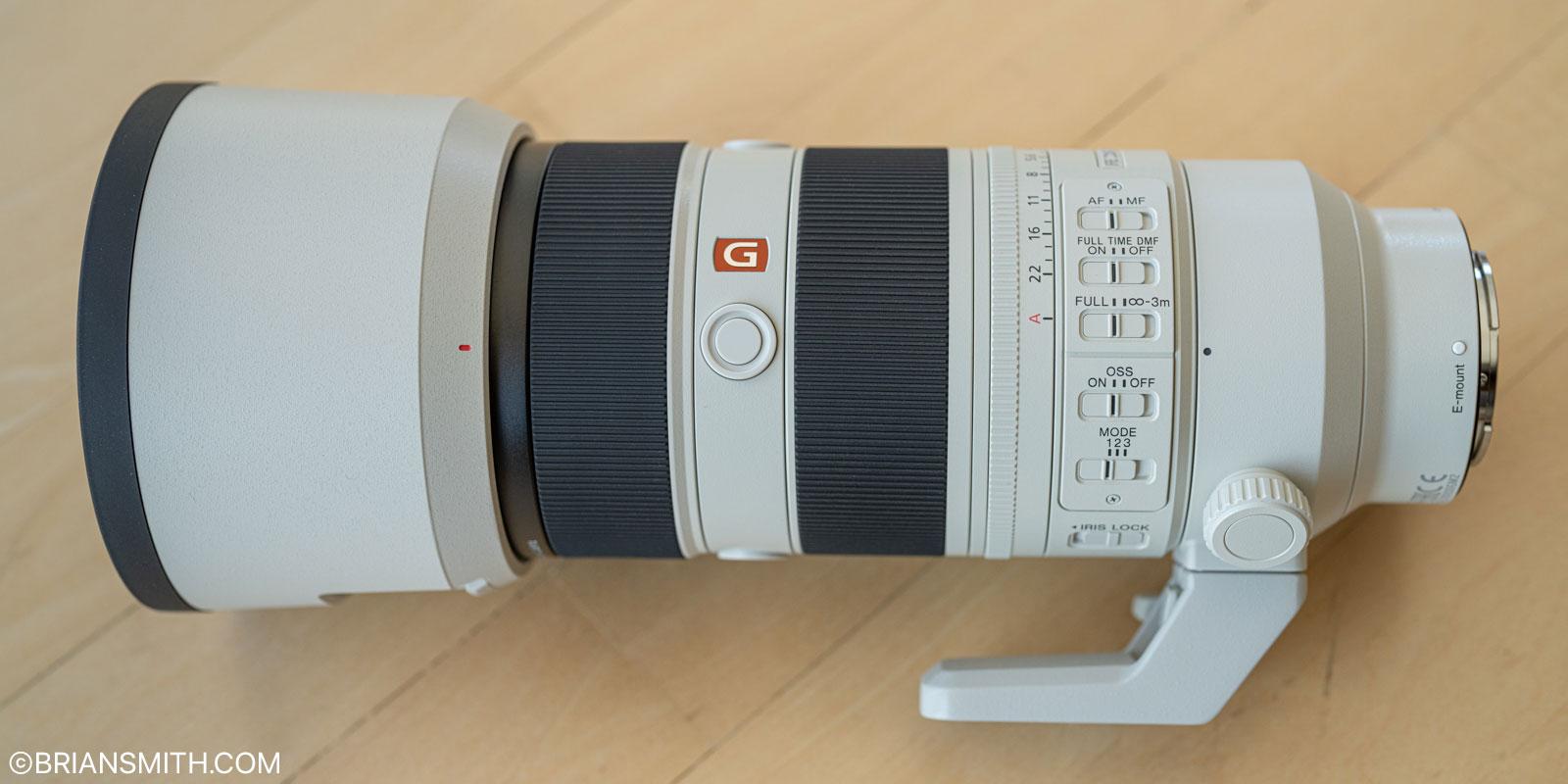 Sony FE 70-200 F2.8 GM OSS II